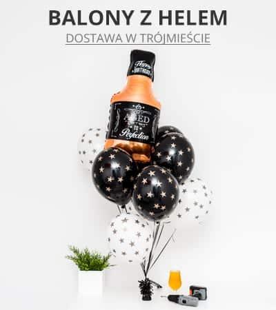 balony z helem gdynia